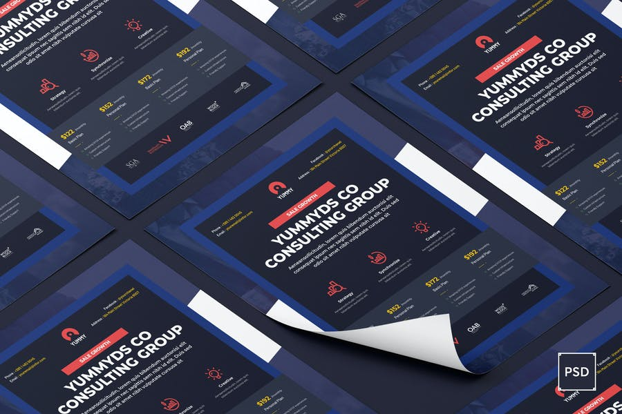 Well Layered Case Study Flyer