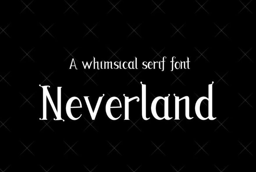 Whimsical Disney Fonts