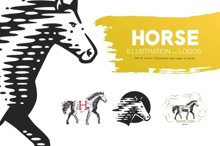 Wild Horse Logo Design