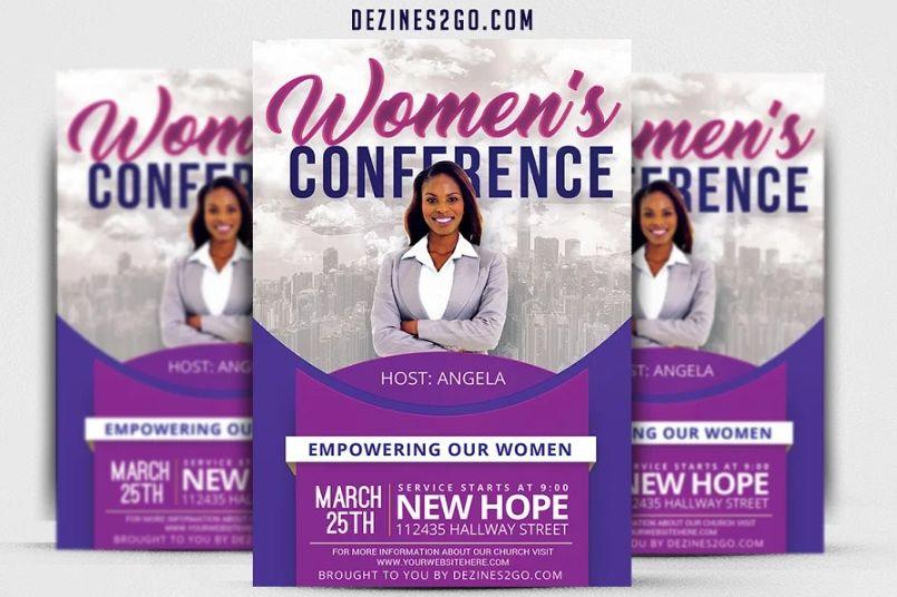 Women Empowerment Flyer Design