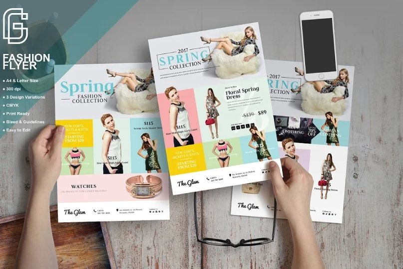 Women Fashion Clothes Flyer