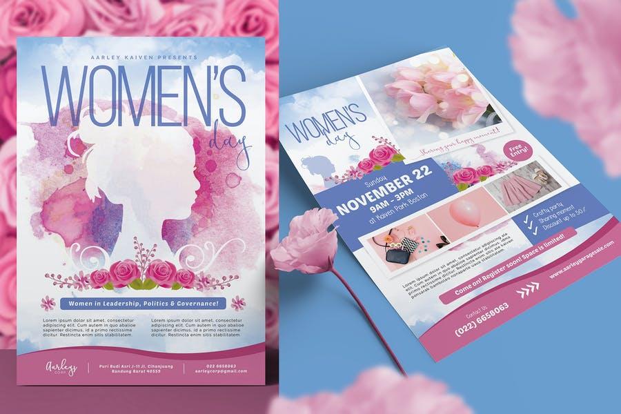 Women's Day Invitation Flyer