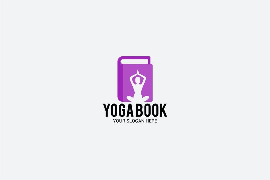 Yoga Book Branding Design