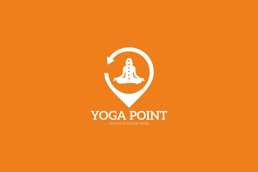 Yoga Point Logo Identity