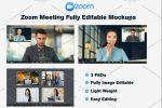 5+ Best Online Meeting Mockup PSD Download