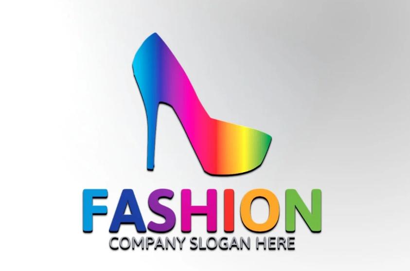fashion Shoes Logo Template