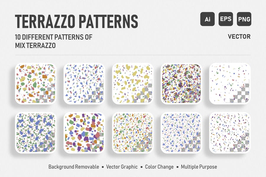 10 Elegant Terrazzo Patterns