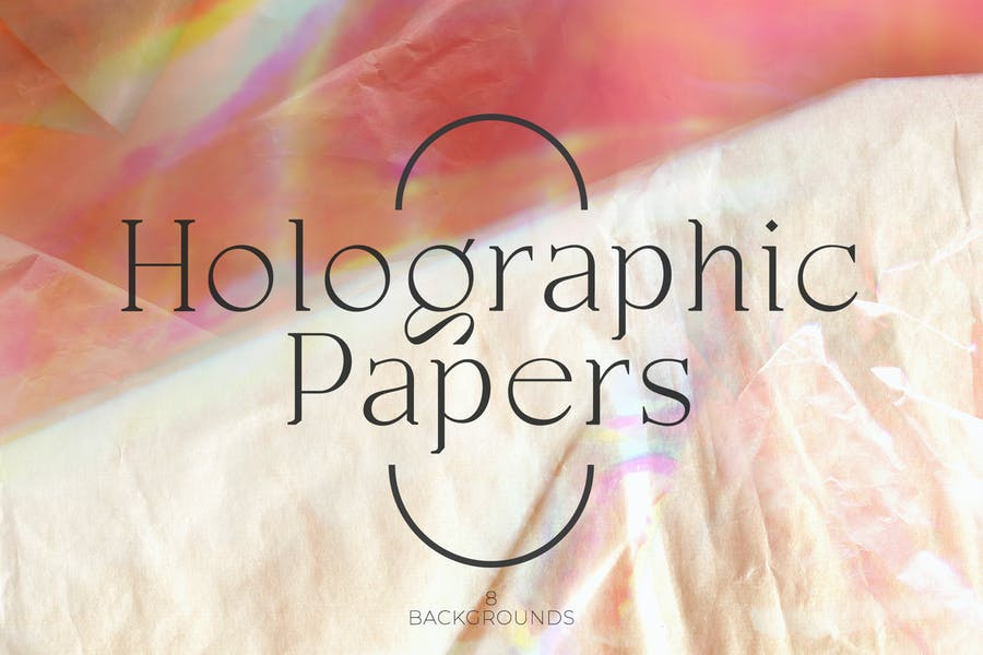 10 Halographic Backgrounds