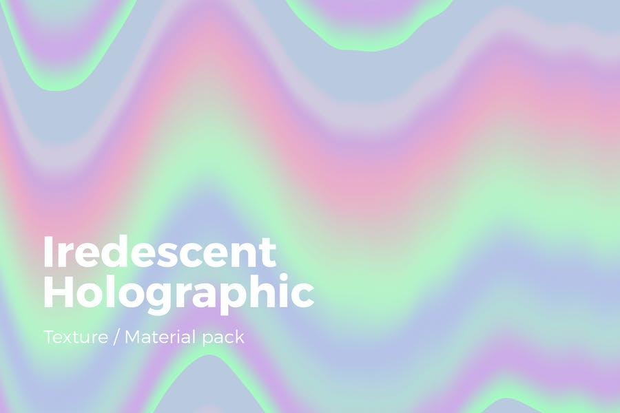 10 Holographic Background Textures