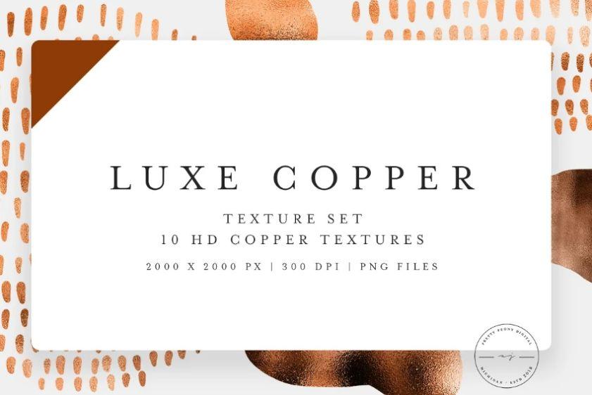 10 Luxury Copper Textures