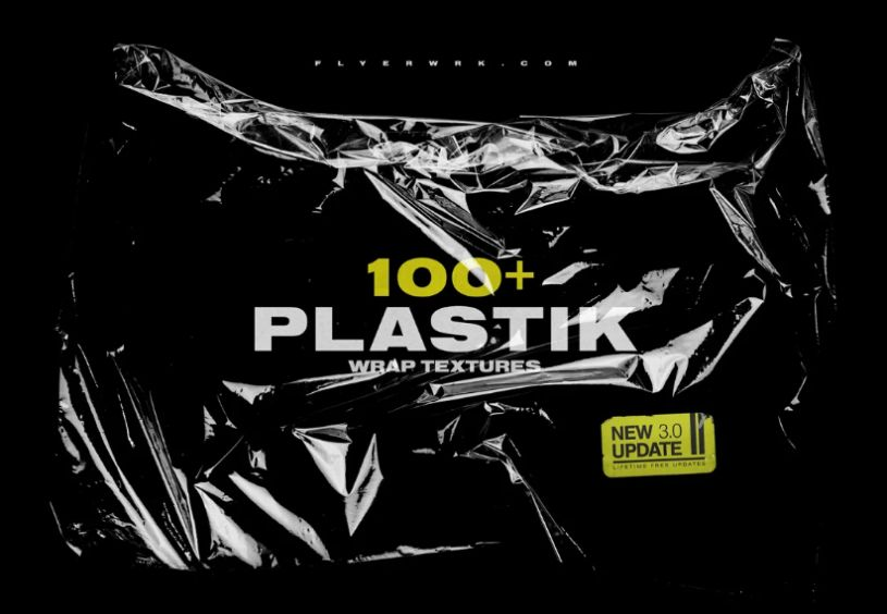 100 Plastic Grunge Textures
