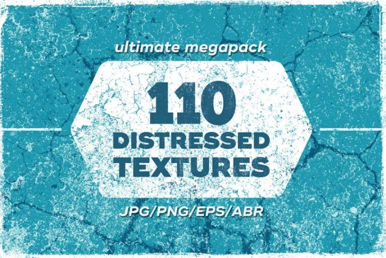 110 Cracked Concrete Texture