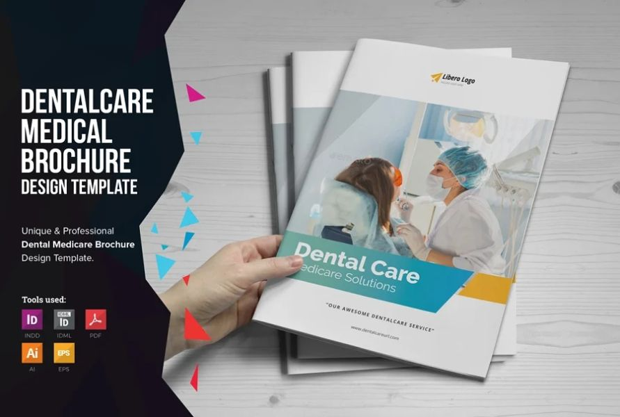 12 Pages Dental Clinic Brochure Template
