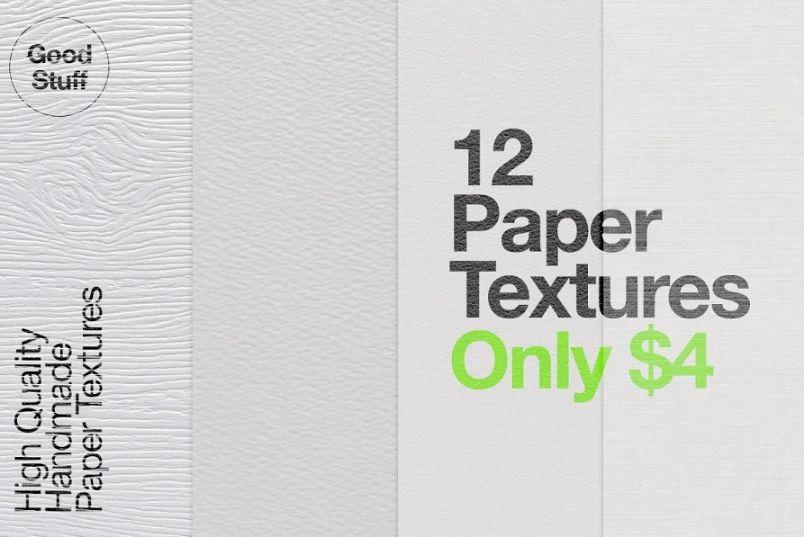 12 Seamless Kraft Paper Textures