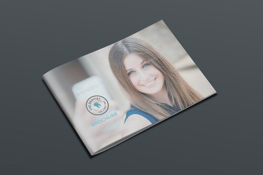 14 Pages Dental Brochure Layout
