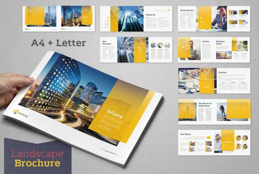 16 Pages Annual Report Templates