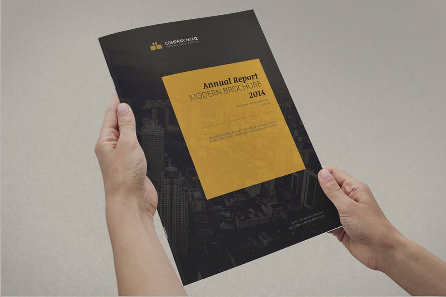 16 Pages Report Templates
