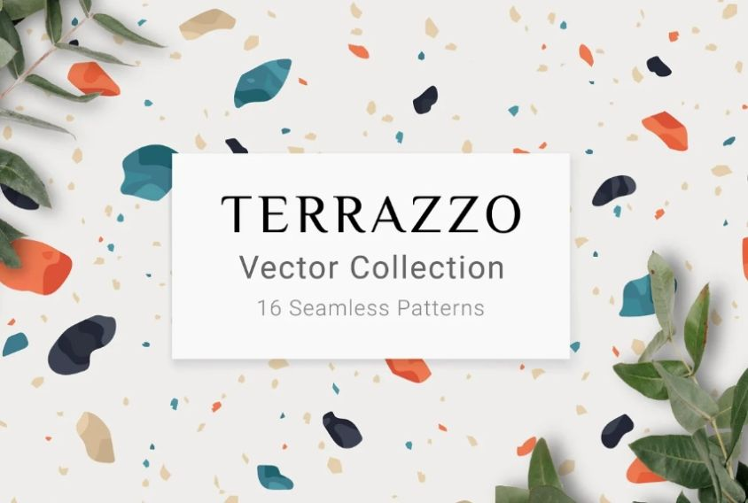 15+ Free Terrazzo Texture Design PNG and JPG Download