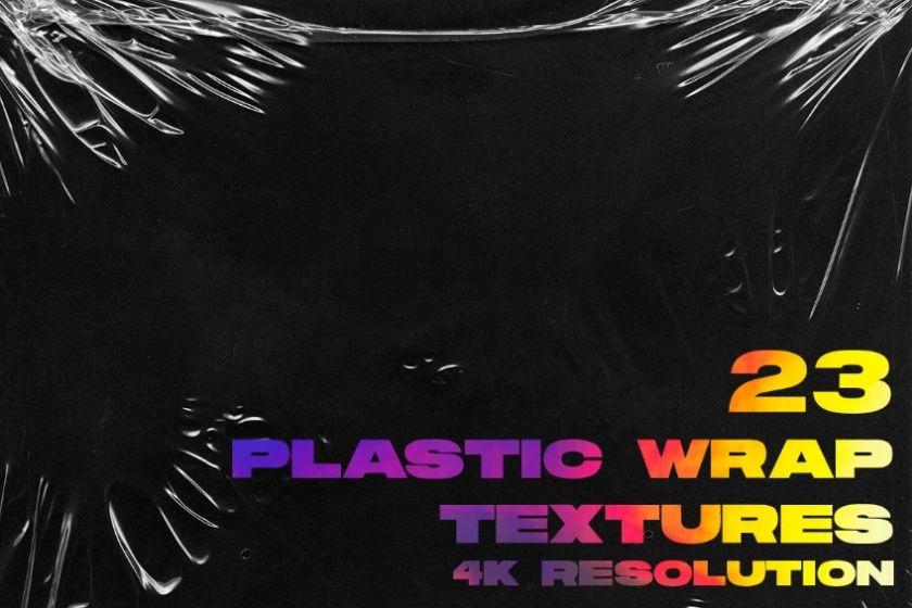 23 Plastic Wrap Textures