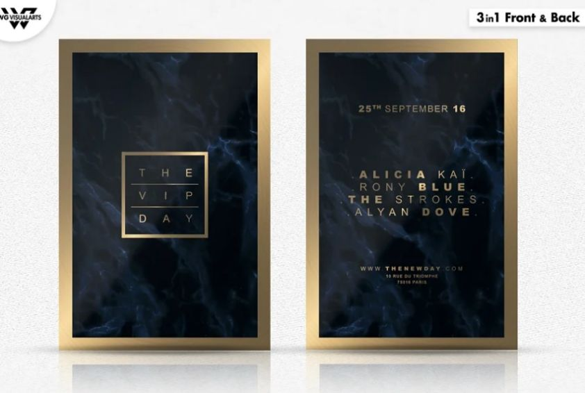 21+ FREE VIP Flyer Template PSD Download