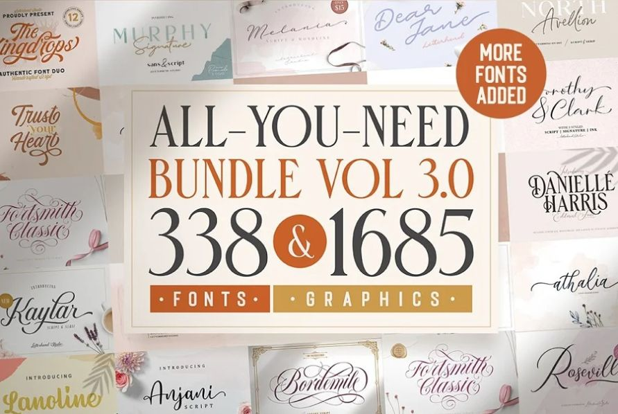 338 Corporate Fonts and Graphics