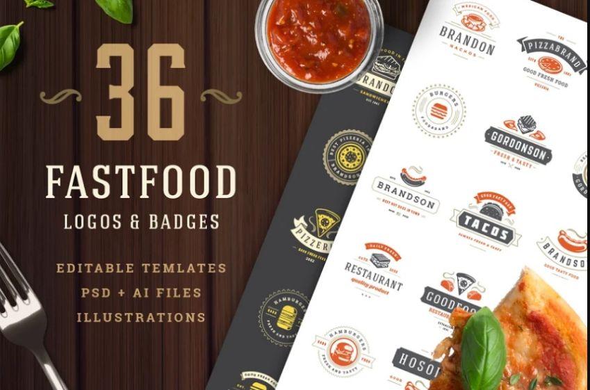 21+ Free Burger Logo Design Templates Download