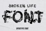 21+ Free Broken Fonts TTF and OTF Downloads