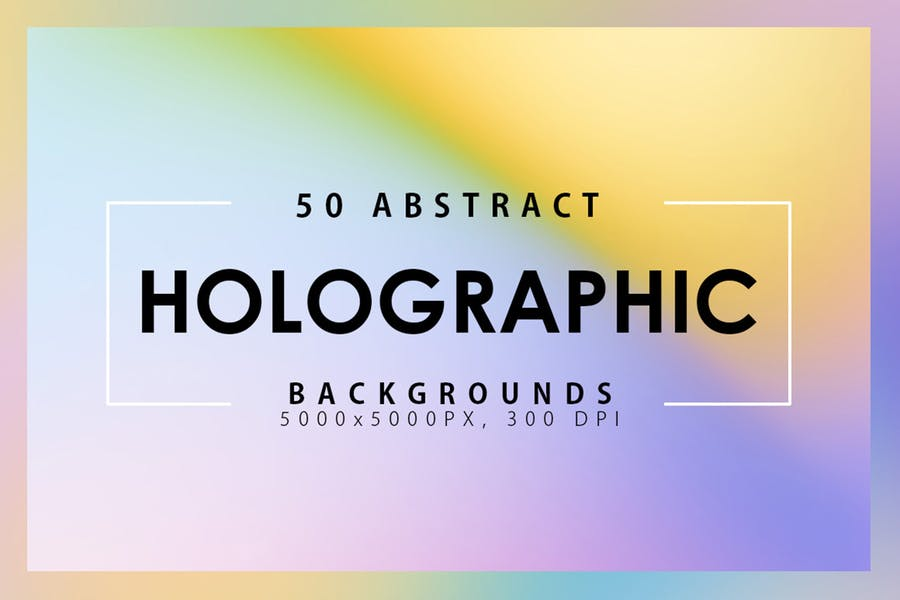 50 Abstract Gradient Backgrounds