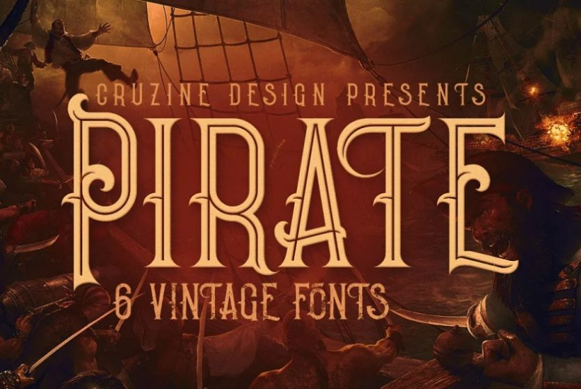 Pirate Fonts