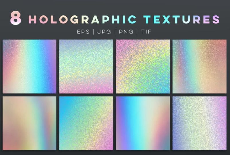8 Creative Holographic Backgrounds