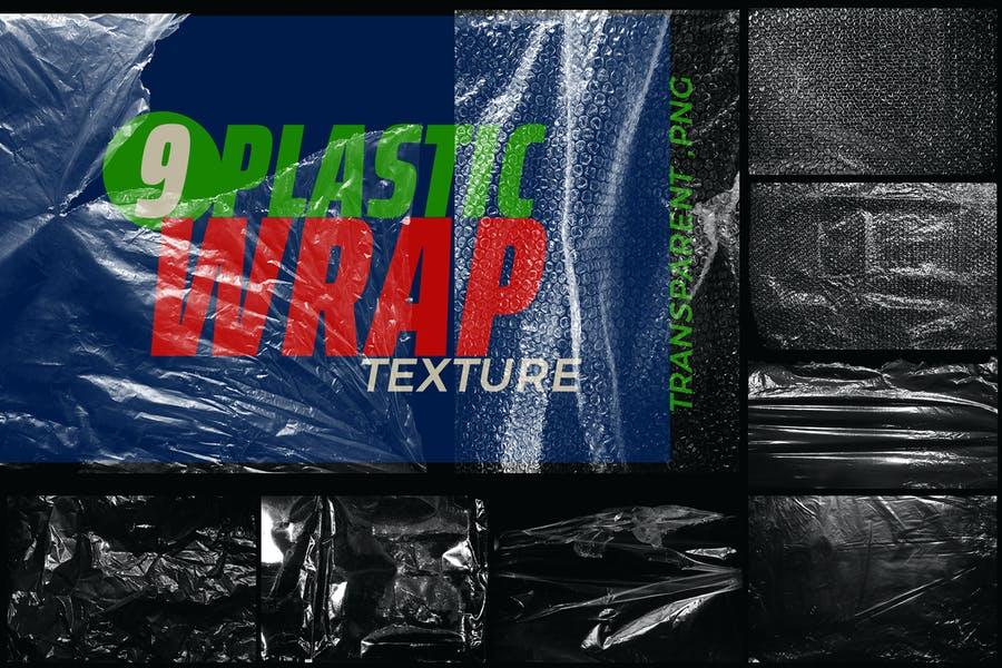 9 Plastic Wrap Textures