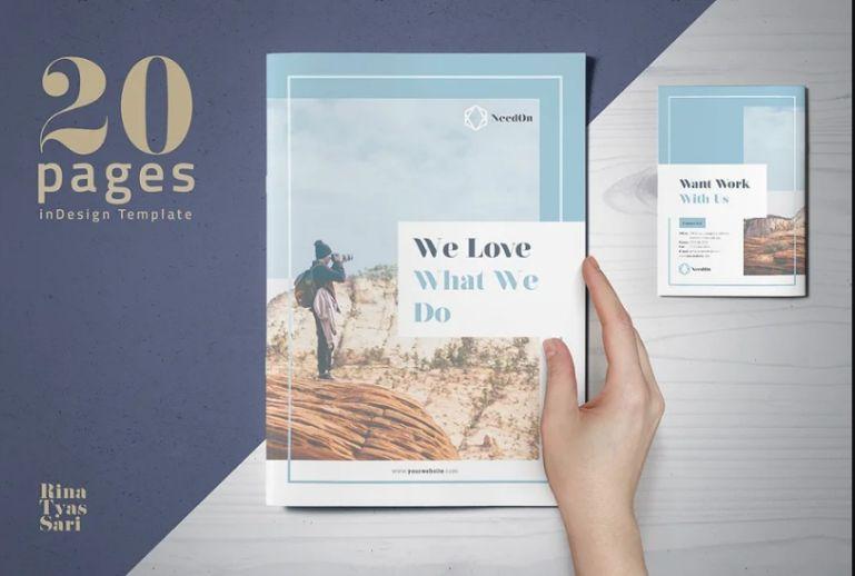 A4 Charity Organization Brochure Template