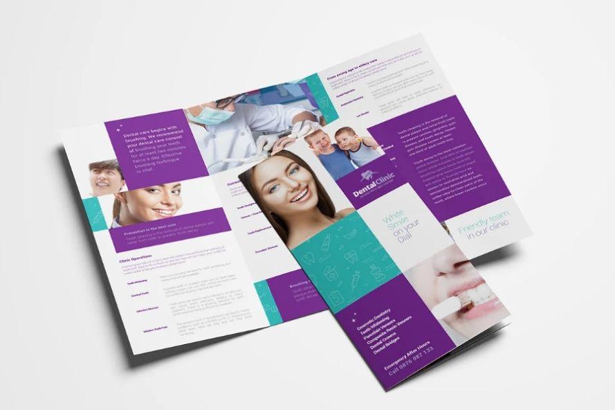 A4 Dental Clinic Brochures