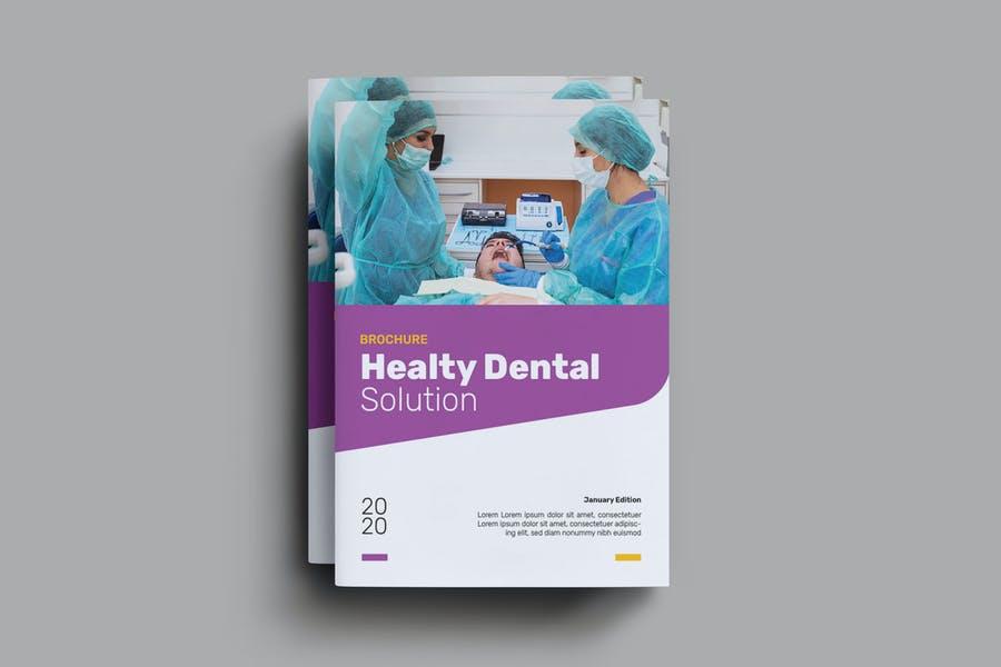 A4 Dental Services Brochures