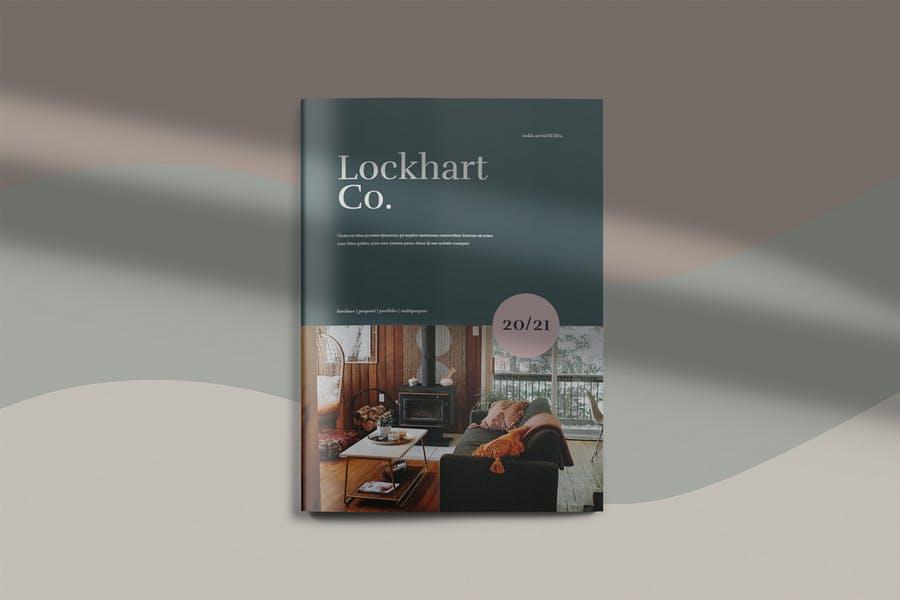 A4 Interior Design Catalog Design