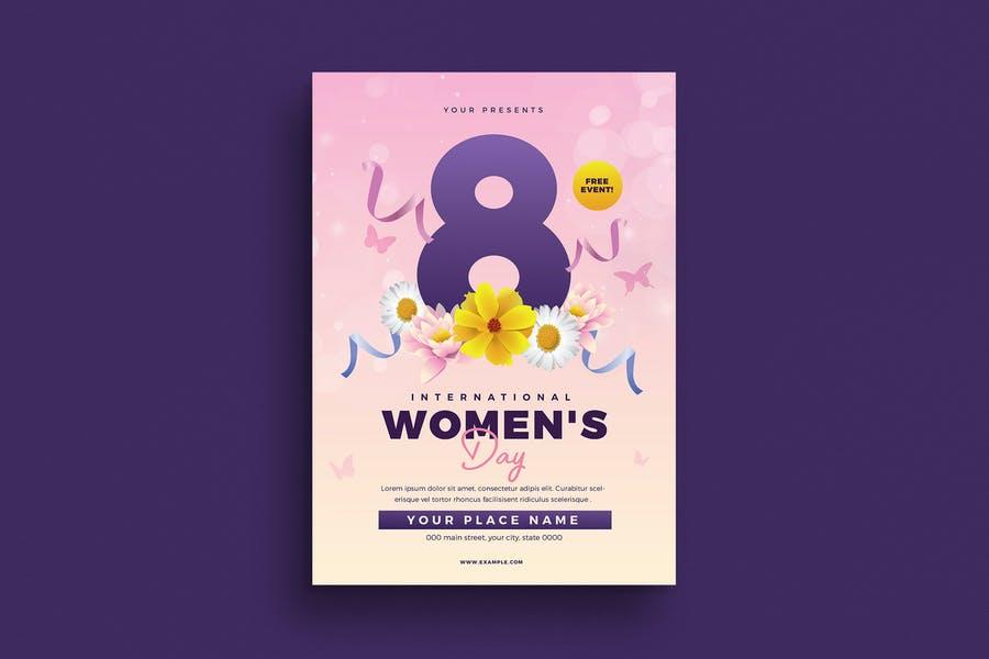 A4 International Women's Day Poster