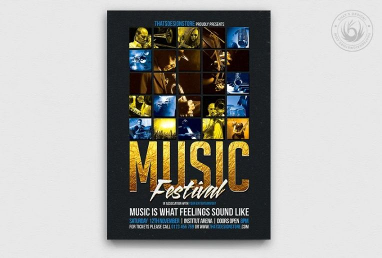 A4 Music Festival Poster