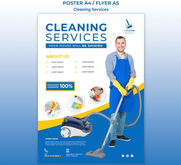 A4 and A5 Cleaning Services Download