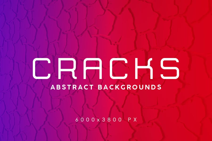 Abstract Crack Backgrounds