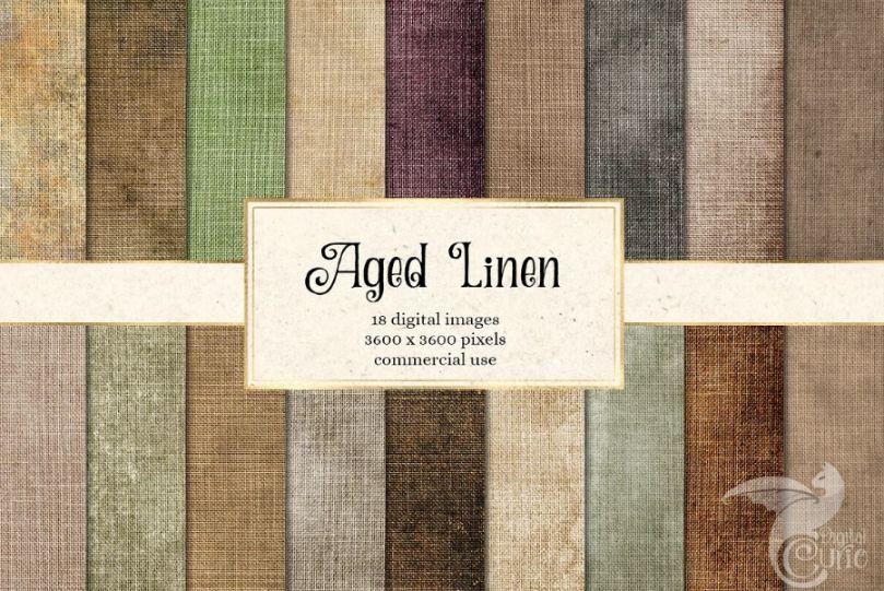 Aged Linen Textures