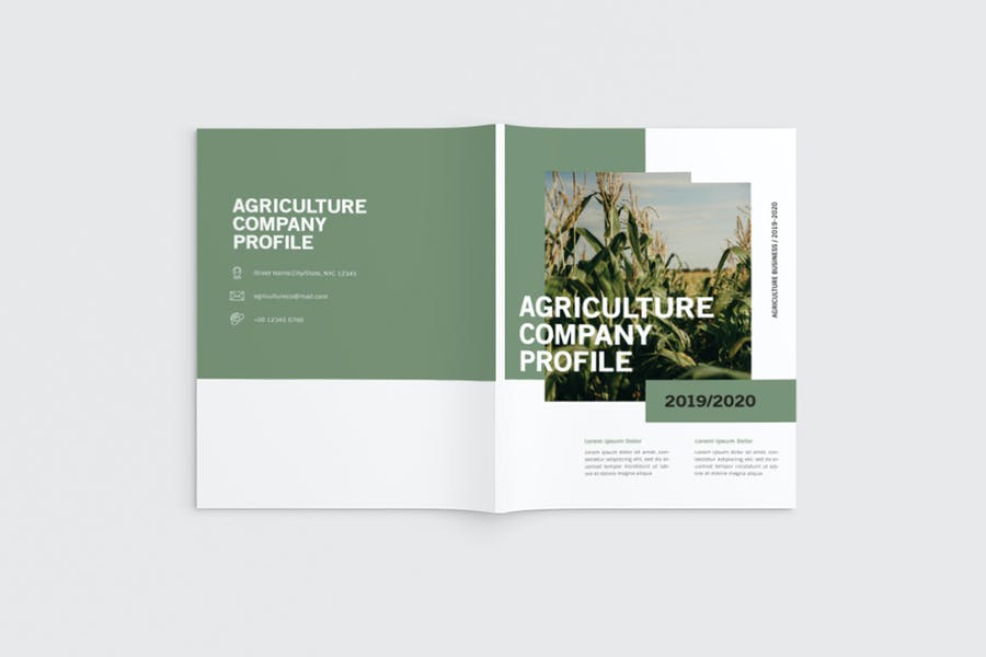 Agricultural Company Brochure