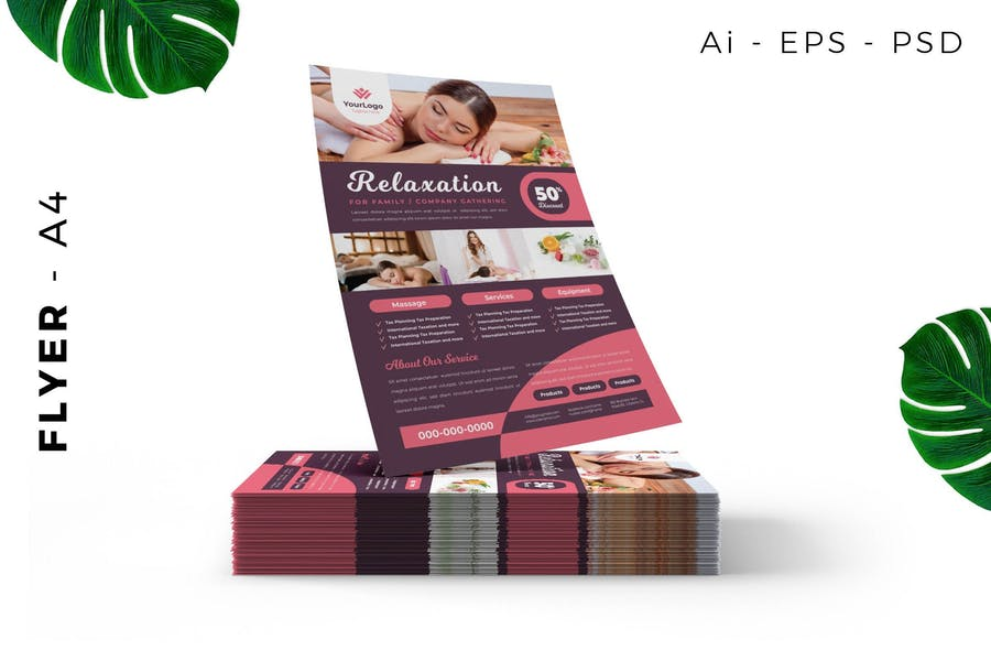 Ai and PSD Flyer Templates