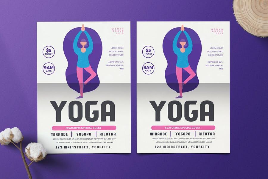 Ai and PSD Yoga Flyer