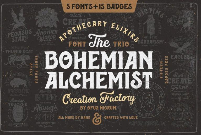 Alchemist Factory Fonts