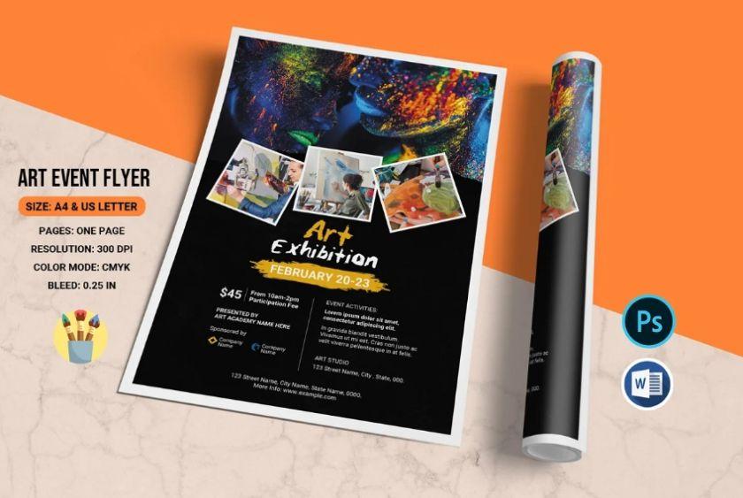 Art Event Flyer Templates