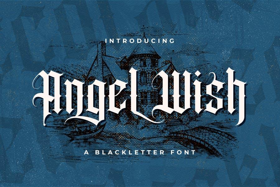 Authentic Blackletter Fonts