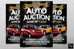 11+ Creative Auction Flyer Template PSD Downloads