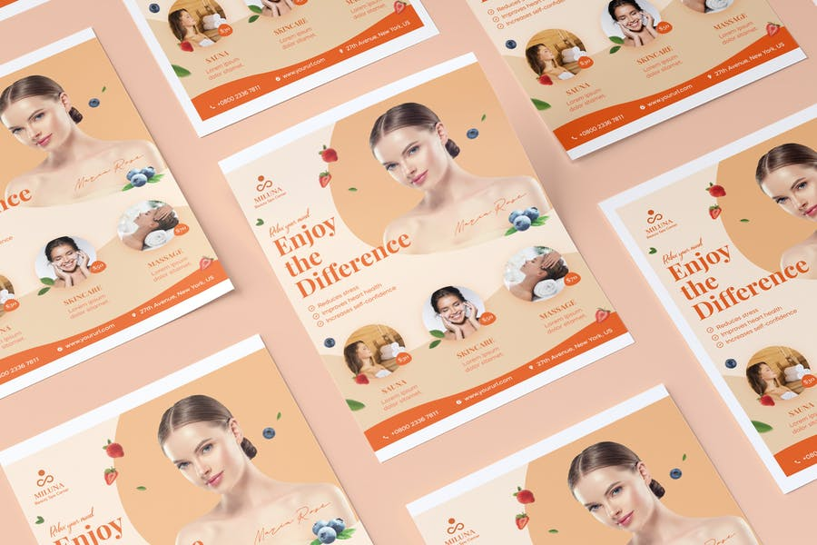 Awesome Beauty Flyer Designs