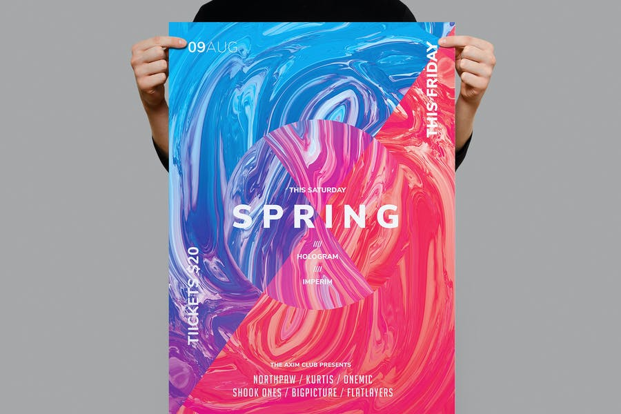 Awesome Spring Promotional Flyer