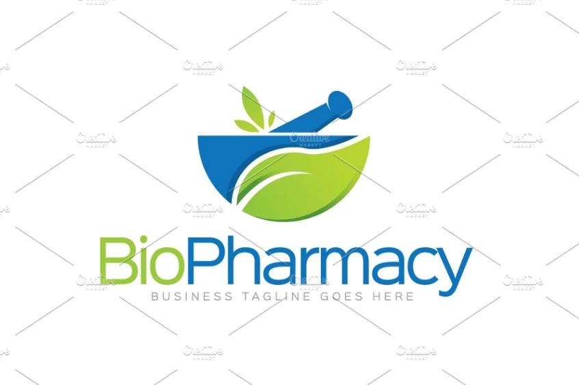 Ayurvedic Medicine Logo Template
